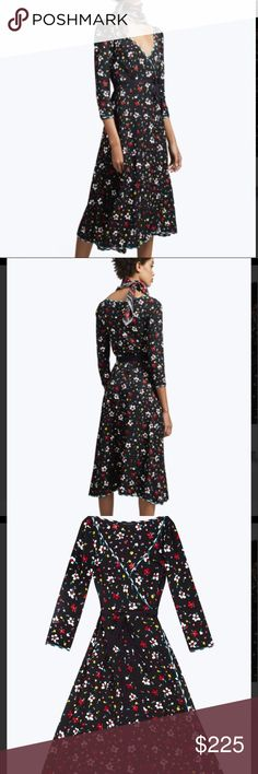 Marc Jacobs Floral Silk Jacquard Dress This beautiful dress is NWTs! Marc Jacobs Dresses