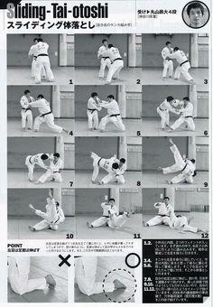 Tai Otoshi Kusure Sliding