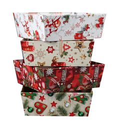 Ozdobny kosz prezentowy na Boże Narodzenie 8