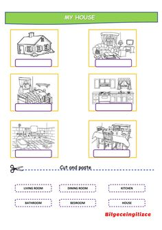 Rooms in the house interactive and downloadable worksheet. Check your answers online or send them to your teacher.