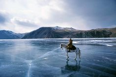 Lake Baikal, Siberia, Russia |  One of the most extraordinary places to dive.