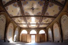 The renovated ceiling of Bethesda Terrace. Location for our Wedding ceremony. Photo: NYC Parks Department