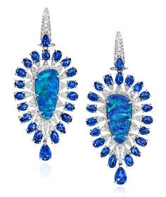 Cellini Jewelers carries SUTRA Opal Teardrop Drops. Visit our stores or shop online at www.cellinijewelers.com today.