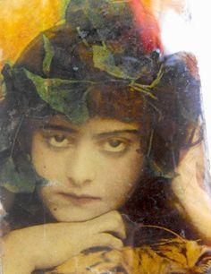 1920s  painting on glass, at englishnicknacks