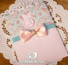 Convite floral luxo