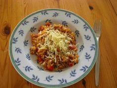 Hackfleisch-Paprika-Risotto - Rezept mit Bild