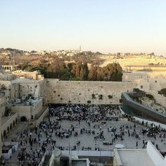 the western wall- most holiest place to the jewish people