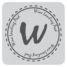 Wine Tasting Landing Pad Square Paper Coaster - home gifts cool custom diy cyo