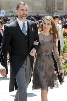 Crown princely couple of Spain