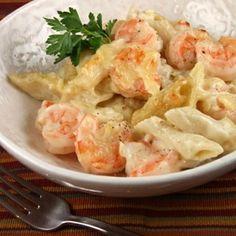 Creamy Gruyere & Shrimp Pasta Recipe - ZipList