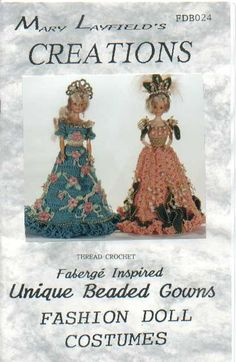 Free Copy of Crochet Pattern - Faberge Inspired Unique Beaded Gowns
