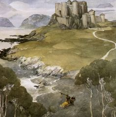 Alan Lee (British, b. 1947). From 'The Mabinogion', Medieval Welsh Tales, 1982