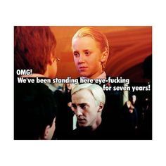 draco malfoy harry potter le love ❤ liked on Polyvore featuring harry potter, funny, draco and quotes