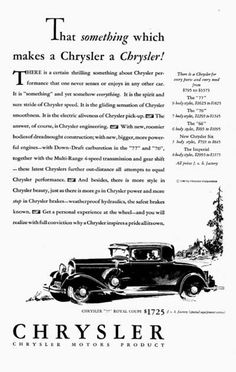 271 Best Chrysler Car Ads Images Chrysler Cars Chrysler 300