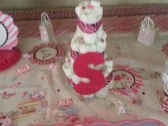First diaper cake I made