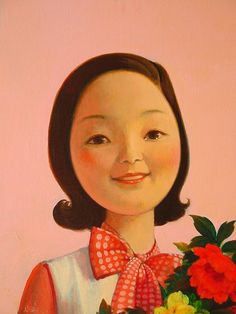 Liu Ye - Teresa Teng, 2009, acrylic on canvas, 15 ¾ x 12 inches