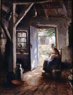Sewing by Daylight - Jac Snoeck