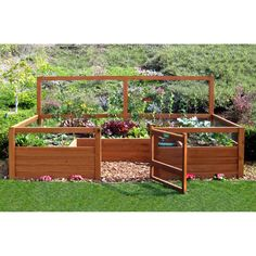 Hey Liz - check this out! Enclosed, contained 6 x 12 ft. Vegetable Garden