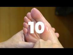 足裏10分足つぼ | 時短の足つぼ - YouTube Foot Massage, Sciatica, Reflexology, Healthy, Youtube, Picture Wall, Natural, Massage, Paint