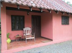 House in Cahuita, Costa Rica. Our charming cabina with sleeping loft is located 15 minutes walking  and 5 minutes by car to the  beautiful Cahuita National Park and  village of Cahuita.  The cabina comes with a  fully equipped kitchen, bathroom and hot water shower.  Playgroun...