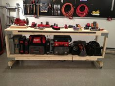 The best diy workbench How to Build a Heavy Duty Workbench