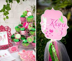 Customer Parties:: Fairy Butterfly Birthday Party Feature