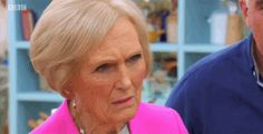 When someone's being the centre of attention at a party and you're trying to be cool with it. | 21 Mary Berry Reactions For Everyday Situations