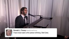#postmodern Josh Groban sings Donald Trump's tweets, and it's the best thing ever - The Washington Post