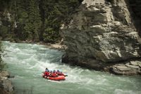 Reserve online one of our whitewater rafting trips down the Kicking Horse River in Golden, British Columbia Plan Canada, Rafting Tour, Fraser River, Canada Travel, Canada Trip, Western Canada, Whitewater Rafting, Travel Activities, British Columbia