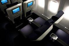 Enjoy the extras on eight international airlines with premium economy: British Airways