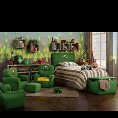 Toddler room- John Deere
