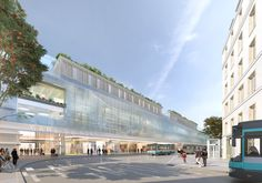 A Huge Renovation for the Gare du Nord in Paris Paris Travel, Train Station, Marina Bay Sands, Architecture Design, Building, Future, Architecture Layout, Buildings, Architecture Illustrations