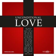 .JOHN  3:16 - 17