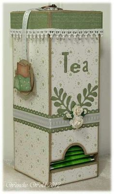Tea Holder Box