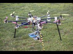 From a diy Arduino quadcopter to a versatile octocopter flight controller. - YouTube