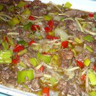 Fotografie receptu: Kuřecí jatýrka na čínský způsob Meat, Food, Cooking, Eten, Meals, Diet