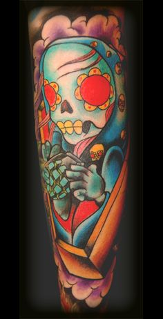 i'm in the market for a day of the dead tattoo...