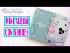 Tutorial Album con Bolsillos Fácil | DIY Scrapbook | Scrapbooking Luisa PaperCrafts - YouTube