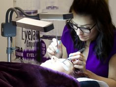October xD Russian Volume Eyelash Extensions Course www.eyelashemporium.com