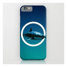 Shark. iPhone 6s Case ($35) ❤ liked on Polyvore featuring accessories, tech accessories, phone cases, phone and iphone & ipod cases