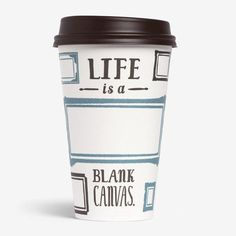 Life is a blank canvas | New Caribou Coffee Campaign | Agency – Colle+McVoy