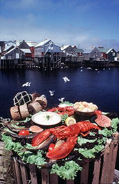 Famous Fundy Lobster, THE best in the world.