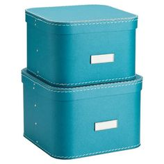 Our Turquoise Oskar Boxes are perfect to store while still displaying!