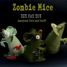 Zombie Mouse from American Felt and Craft