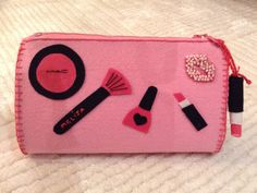 Keçe Makyaj Çantası, Felt Makeup Bag