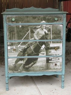 Tim's Boots Blog: Western Dresser Furniture Repurposing TIM'S BOOTS
