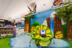 the children's area in our library.