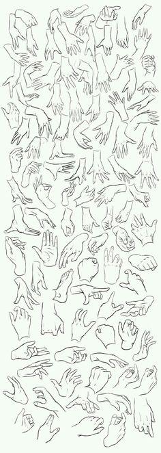 video tutoriales para aprender a dibujar manos is part of Art reference Video tutoriales para aprender a dibujar manos artReference Hands - Hand Reference, Drawing Reference Poses, Drawing Poses, Manga Drawing, Drawing Tips, Drawing Sketches, Drawing Tutorials, Drawing Ideas, Figure Drawing