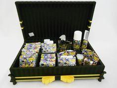 Linda caixa kit toillet para festas.  Incluso produtos e embalagens personalizadas.  Sua festa ficará linda! R$ 295,00