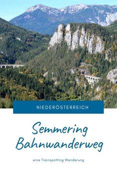 Eine Trainspotting Wanderung auf 21 Kilometern rund um Viadukte, pfeifende Züge und herrlichen Ausblicken. Streckenbeschreibung und Tipps für den Bahnwanderweg zwischen Semmering und Payerbach. #SemmeringWandern #ÖsterreichSchönsteOrte #ÖsterreichUrlaub #ÖsterreichWandern #ÖsterreichUrlaubSommer #NiederösterreichAusflug #Niederösterreich #ÖsterreichAusflugsziele #AusflügeÖsterreich #AusflugszieleinÖsterreich #Semmeringwandern #Semmeringbahn #WanderninNiederösterreich #WandertippsÖsterreich Austria, Desktop Screenshot, Mountains, Nature, Travel, Bergen, Highlights, Day Trips, Road Trip Destinations